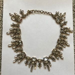 J. Crew Faux Diamond Statement Necklace